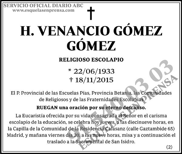 Venancio Gómez Gómez